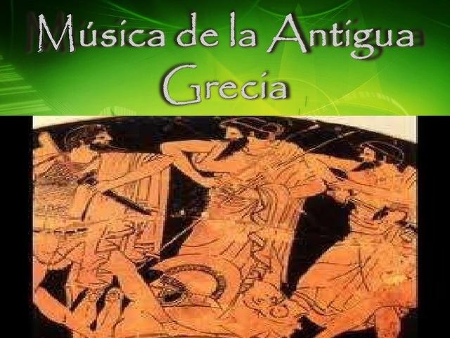 musica de la grecia