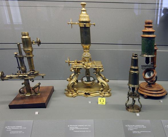 Progression of Microscope