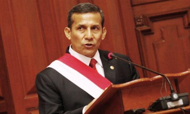 Críticas a Humala por no mencionar el sueldo mínimo en su Mensaje a la Nación