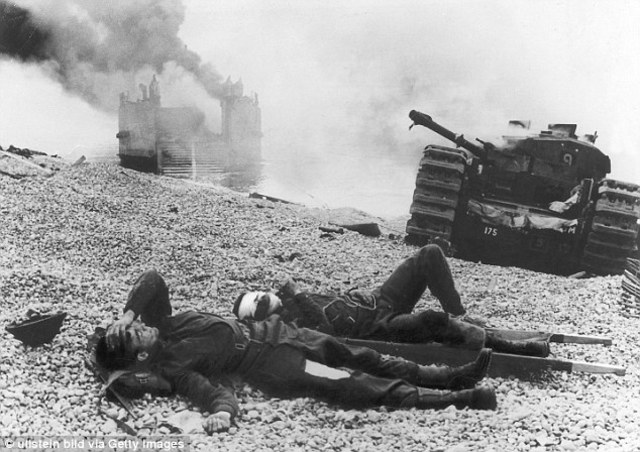 Canadian troops make a disastrous raid on the French port of Dieppe