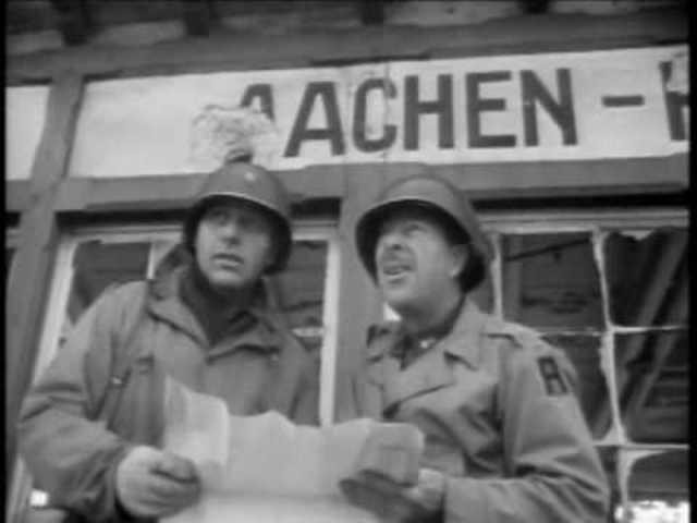Allies take Aachen, a German city
