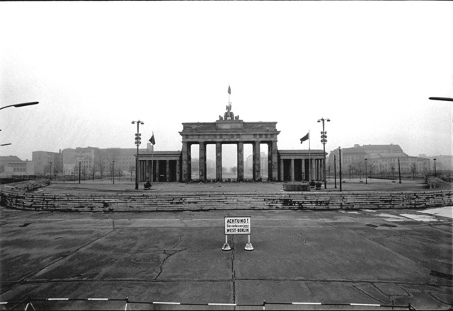 Brandenburg Gate Closed