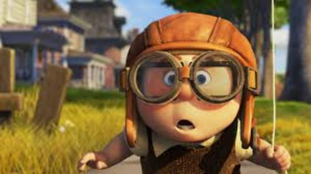 Carl becomes an adventure explorer