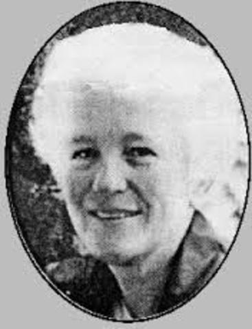 Sister Irene McCormack was born on August 21st 1938