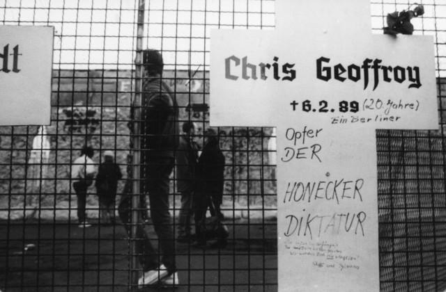 Chris Gueffroy  dies