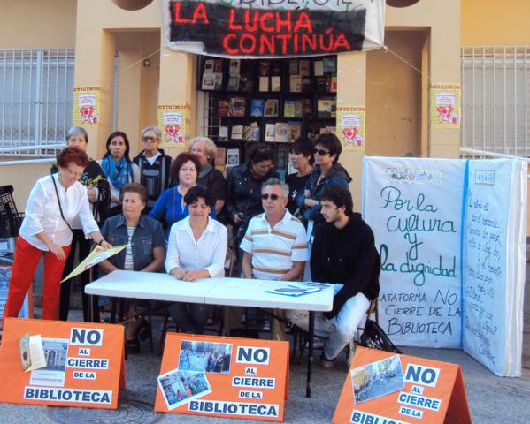 De plaza en plaza por una biblioteca