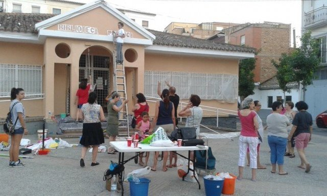 El barrio 'recupera' Las Palomas