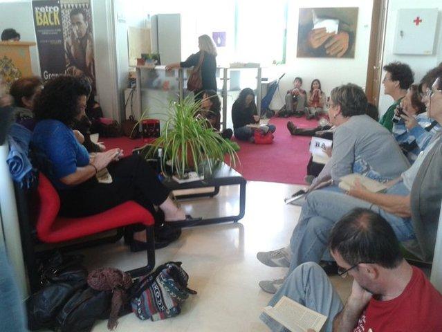 'Ocupación' por la biblioteca de Las Palomas