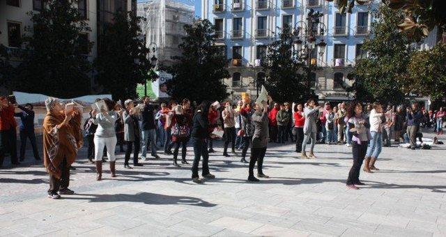 Flashmob por las Palomas