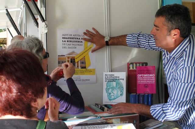 La Feria del Libro, de amarillo por las Palomas