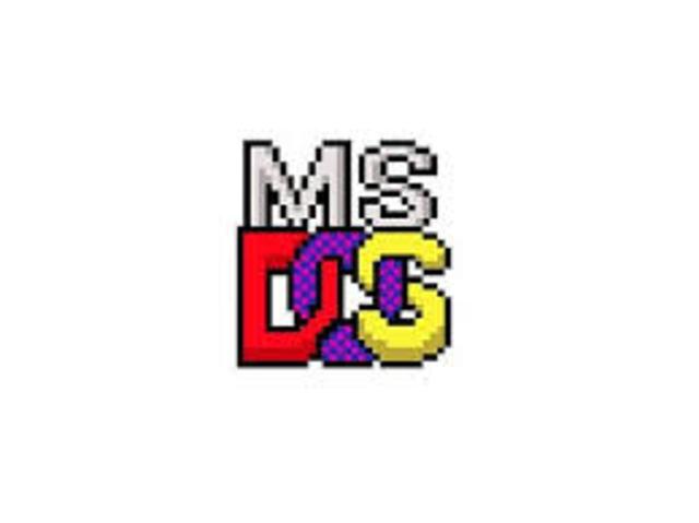 Sistema Operativo DOS Microsoft