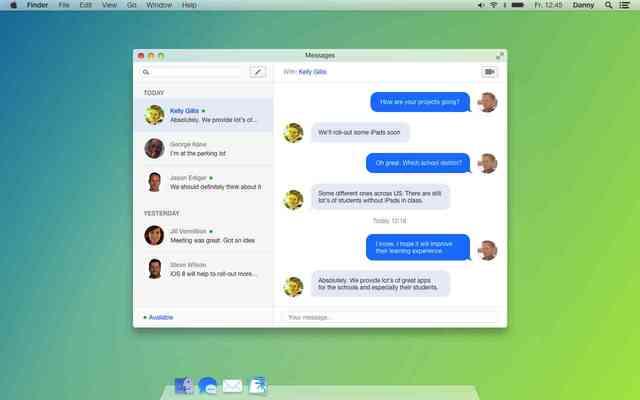 Mac OS X 10.10  Beta