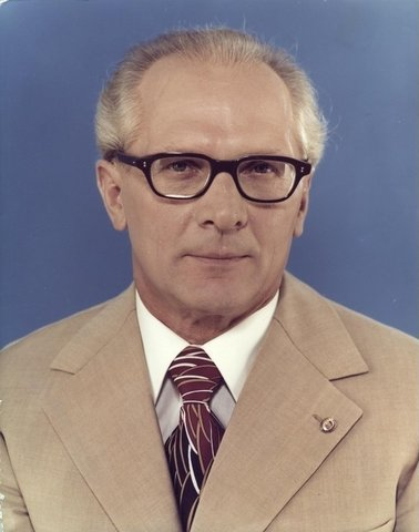 """Honecker announces """"The Wall will still exist in 100 years"""""""