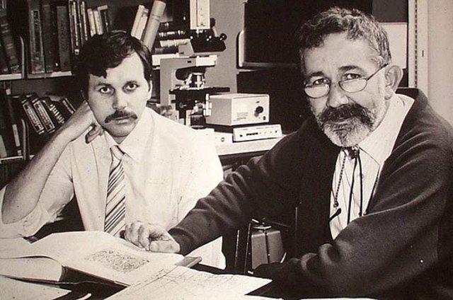 Barry Marshall y Robin Warren.
