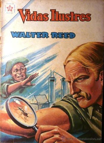 FIebre amarilla es transmitida por mosquitos. Walter Reed
