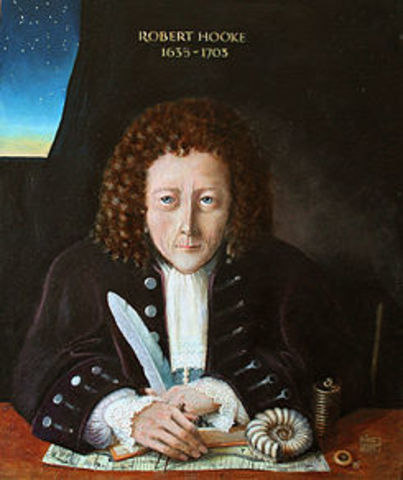 Robert Hooke: ACUÑÓ EL TERMINO DE CELULA