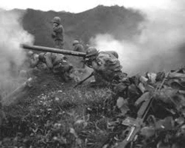 The Battle of Osan