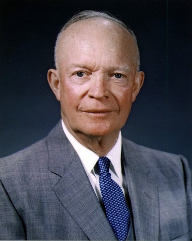 Republican Dwight D. Eisenhower Elected President