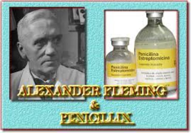 "Alexander Fleming ""Penicilina"""