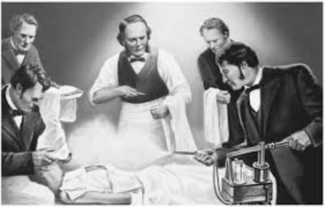 Joseph Lister:Metodos antisepticos