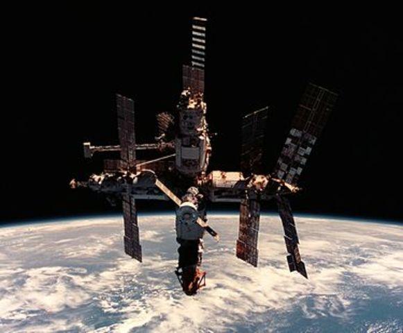 Estacion Espacial Mir
