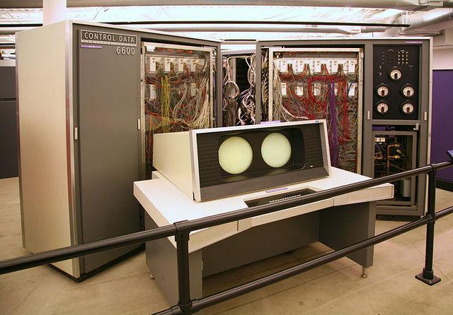 CDC 6600 (Súper computadora)