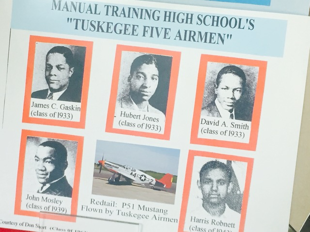 Manual sends five graduates to fight with the Tuskegee Airmen