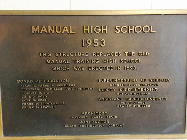 Manual High School is rebuilt after fire