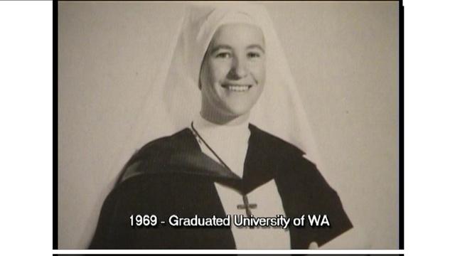 Irene graduates from University.