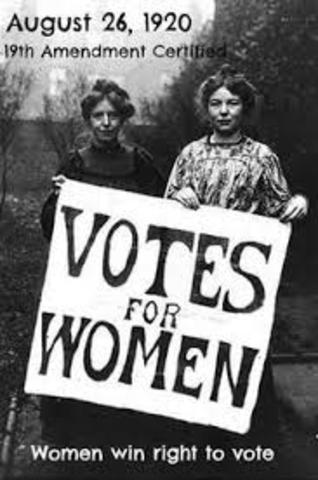 QLD Women get to vote