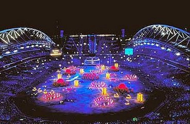 Sydney 2000 Olympics is Broadcasted