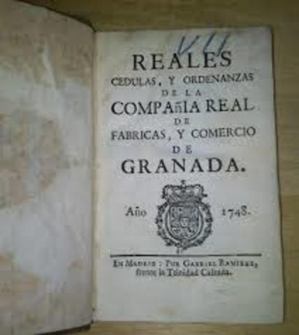 ORDENACION DE LAs cedulas reales en 1777