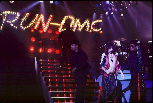 "Run- D.M.C. and Aerosmith: ""Walk this way"""