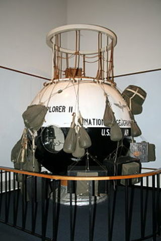 Explorer 2 launched (USA)