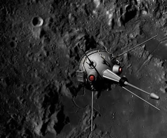 Luna 2 Launched (U.S.S.R)
