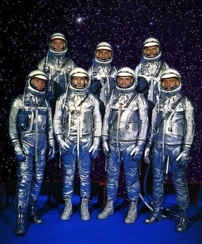 First 7 Astronauts administered (USA)