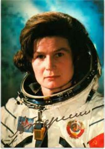 First Woman in Space (U.S.S.R)