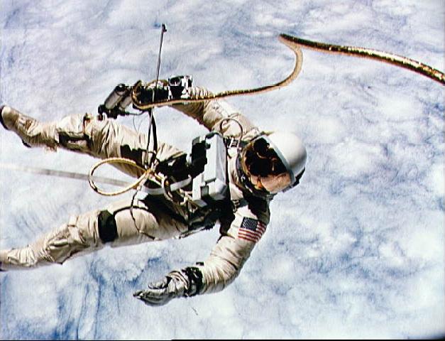 First American spacewalk (USA)