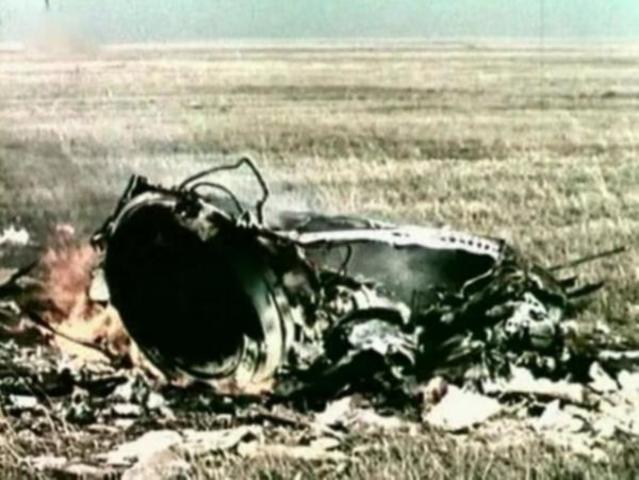 First in-flight death (U.S.S.R)