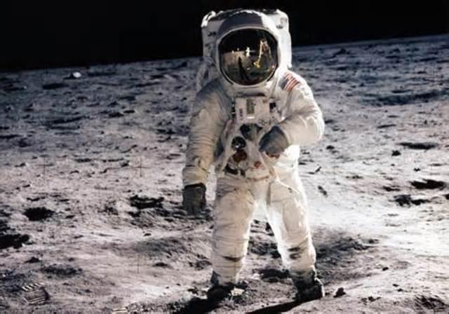 First Man on Moon (USA)