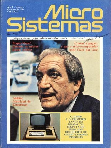 Lançamento da Revista Micro Sistemas