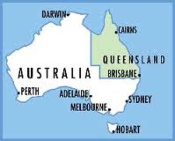 Sydney and Brisbane