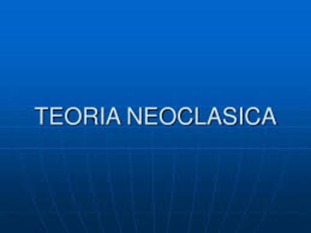 teorias neoclasica 1925-1948- Caracteristicas