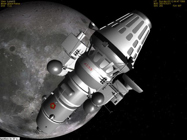 First Moon Landing!