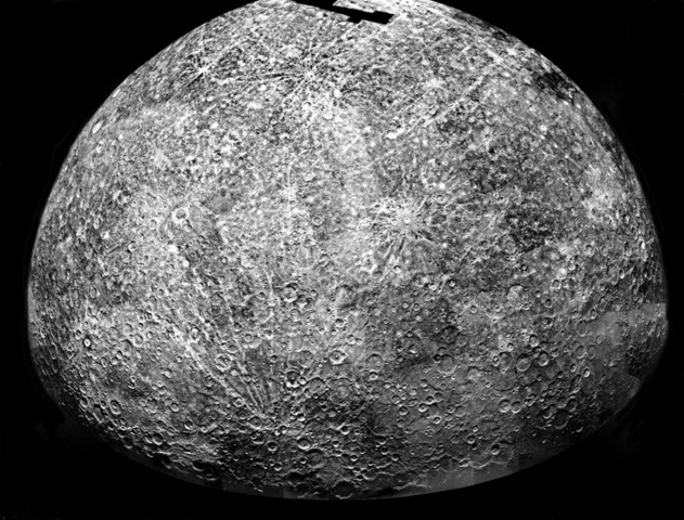 First probe to fly past Mercury!