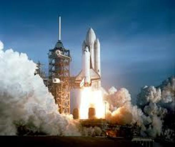 First space shuttle launch!