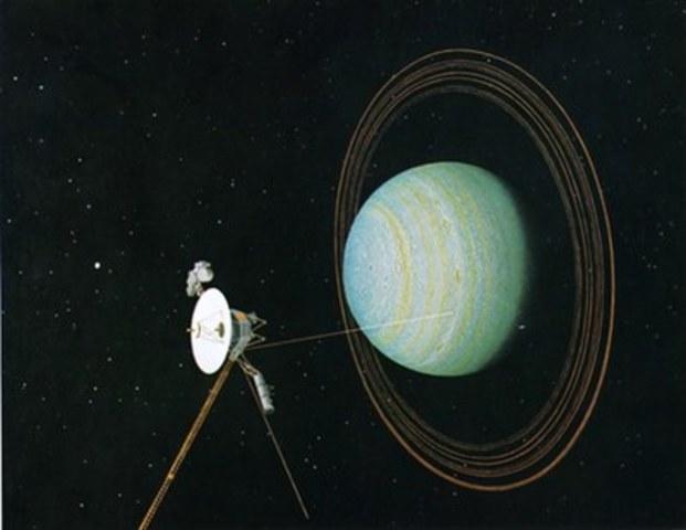 First Uranus Flyby!