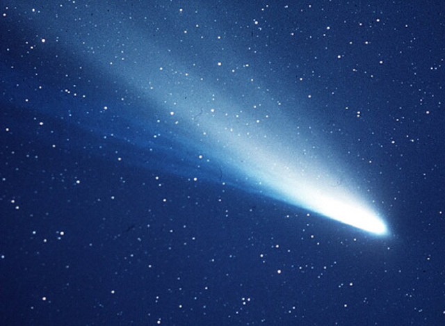 First Halley's Comet flyby!