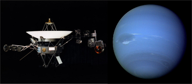 First Neptune Flyby!