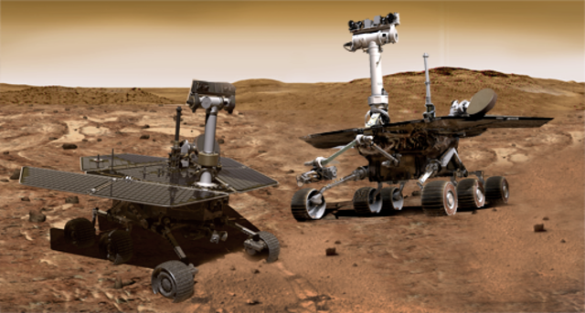 Rover Missions land on Mars!